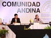 """""""Hoy es un día histórico para el pueblo ecuatoriano y para la región"""", señaló San Miguel Rodríguez, al destacar que por primera vez una mujer latinoamericana, ha sido elegida en tan alto cargo."""