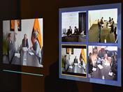 Comisión de la Comunidad Andina, integrada por los representantes de los ministerios de Comercio Exterior de Bolivia, Colombia, Ecuador y Perú se reunió por videoconferencia.