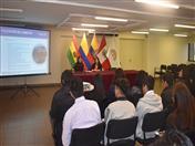 Normativa aduanera comunitaria y facilitación de comercio, tema expuesto por la funcionaria Paulina Beltrán.
