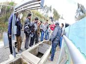 La jornada de trabajo también incluyó la visita a las obras ejecutadas en el marco del proyecto INPANDES en la frontera Ecuador- Colombia (Foto: Prefectura Carchi)