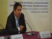 Presidente de la Comisión Nacional contra la Biopiratería de Perú, Andrés Valladolid