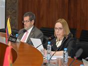 Por Colombia, asistió Mónica Lanzetta, Embajadora de Colombia en Perú.