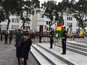 Ofrenda Floral de la Embajada de Bolivia en el Perú