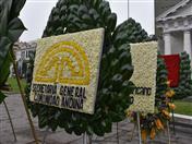 Ofrenda Floral de la Secretaría General de la Comunidad Andina