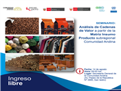 Países de la Comunidad Andina contarán con herramienta estadística para analizar flujos de producción, comercio y empleo