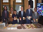 Ceremonia de presentación del chocolate Tikuna en la sede del Ministerio de Relaciones Exteriores del Perú