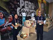 Productores de cacao, beneficiarios de proyecto promovido por la CAN y la UE participan en Expoalimentaria