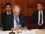 El Embajador José Antonio Arróspide, Director General de la Secretaría General de la Comunidad Andina participó en la reunión en calidad de Observador.