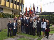 Foto grupal del Taller de trabajo técnico para la elaboración del Plan de Implementación de la Estrategia Andina para la Gestión del Riesgo de Desastres 2017-2030.
