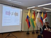 La experiencia colombiana fue presentada por María Nathalia Pinzón de INVIMA.