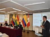 Embajador Clarems Endara, a cargo de la Dirección General 1 de la Secretaría General de la CAN.