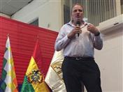 Viceministro de Comercio de Bolivia, Benjamín Blanco.