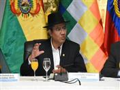 Ministro de Relaciones Exteriores de Bolivia, Diego Pary