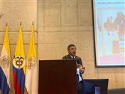 """Secretario General expuso sobre """"Presente y futuro de la CAN en el nuevo contexto mundial"""" en Universidad Javeriana de Colombia"""