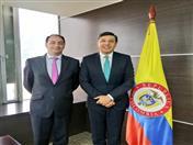 Durante la reunión realizada en Bogotá el viernes 18, ambas autoridades coordinaron agendas en común entre el ministerio y la Secretaría.