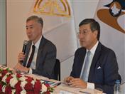 Ministro de la Competencia y Reglamento Antimonopolio de la Comisión Económica Euroasiática, Serik Zhumangarin.