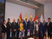 Participantes en el encuentro Comunidad Andina- Euroasia.