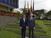 Secretario General de la Comunidad Andina, Jorge Hernando Pedraza recibió al Ministro de la Competencia y Reglamento Antimonopolio de la Comisión Económica Euroasiática, Serik Zhumangarin