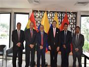 Secretario General de la CAN, de UDUAL y Directores Generales de la Secretaría.