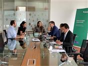 Reunión con la presidenta de la Agencia Nacional de Minería, Silvana Habib.
