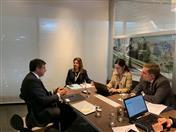 Reunión con la presidenta de Pro Colombia, Flavia Santoro.