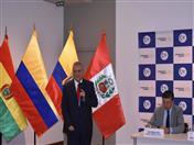 Cónsul General de Colombia en Lima, Emilio Merino.