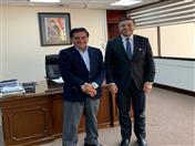 Reunión con el Ministro de Obras Públicas, Servicios y Vivienda, Oscar Coca
