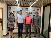 Reunión con la Federación de Empresarios Privados de Santa Cruz.