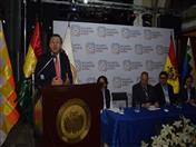 Acto de clausura del VIII Encuentro Empresarial Andino.
