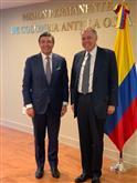 Reunión con el Representante Permanente de Colombia ante la OEA, Alejandro Ordoñez.