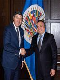 Reunión con el Secretario General adjunto de la Organización de Estados Americanos, Néstor Mendez.
