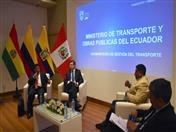 Viceministro de Transporte del Ecuador, Ángel Loja