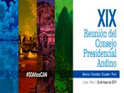 Este domingo se realizará en Lima, Cumbre Presidencial Andina con motivo de los 50 años de la CAN