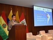 Embajador Clarems Endara, a cargo de la Dirección General 1 de la Comunidad Andina