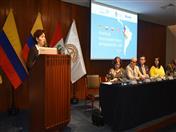 Representante del Banco Interamericano de Desarrollo, BID, Viviana Caro