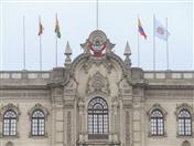 Banderas de los países miembros y de la Comunidad Andina flamearon en Palacio de Gobierno.