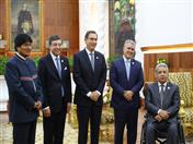 Presidentes de Bolivia, Secretaría General de la CAN, Perú, Colombia y Ecuador.
