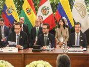 XIX Consejo Presidencial Andino se realizó en el Palacio de Gobierno en la ciudad de Lima.