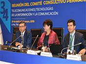 Secretario General, Jorge Hernando Pedraza participó en 34 Reunión del Comité Consultivo Permanente I CCPI: Telecomunicaciones/TIC -CITEL de la Organización de los Estados Americanos (OEA).