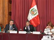 Secretario General de la CAN, Jorge Hernando Pedraza asistió hoy a la Comisión de Relaciones Exteriores del Congreso de la República del Perú.