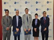 Secretario General de la CAN, Jorge Hernando Pedraza estuvo acompañado del Embajador Clarems Endara, a cargo de la Dirección General 1 de la Secretaría General.