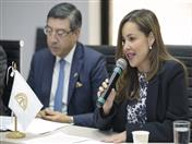 Viceministra de Comercio, Laura Valdivieso.