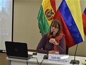 Representante del Ministerio de Ambiente del Perú.