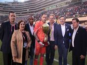 David Ospina, Presidente de la Federación Colombiana de Fútbol, Secretario General de la CAN y Vicepresidente de la Federación Peruana de Fútbol.