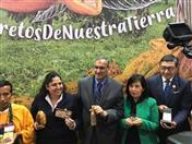 Inauguración de Salón del Cacao y Chocolate estuvo a cargo de la Ministra de Agricultura, Fabiola Muñoz.