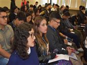 La charla se realizó en el Gran Salón.