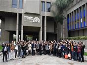 Más de 160 universitarios peruanos visitaron Secretaría General de la Comunidad Andina.
