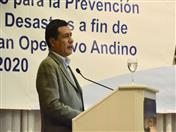 Viceministro de Defensa Civil de Bolivia, Oscar Cabrera, asumió la Presidencia Pro Tempore del Comité.