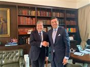 El Secretario General de la CAN, Jorge Hernando Pedraza se reunió con el Canciller de Colombia, Carlos Holmes Trujillo en su despacho en la ciudad de Bogotá.