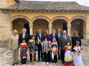 Ceremonia de conmemoración del Bicentenario de la Independencia de Colombia en el municipio de Paipa.